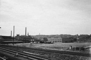 Blick auf das mabag-gelände nordhausen