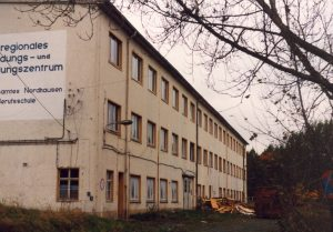 Lagerhalle heeresmuna obergebra, zustand 1992